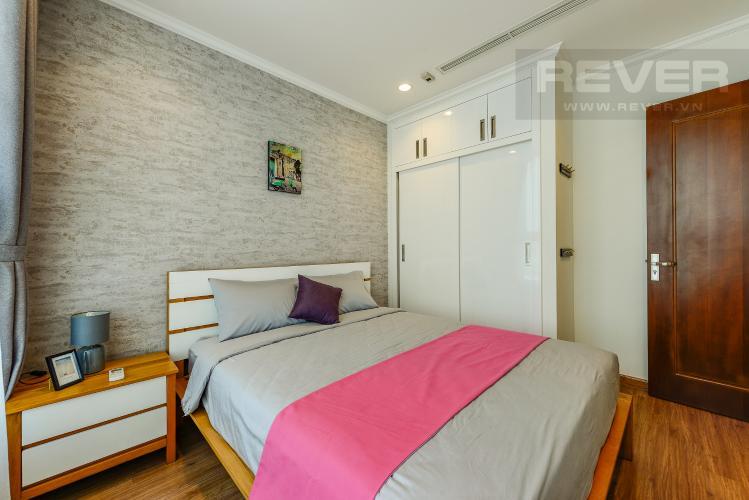 Phòng ngủ Căn hộ Vinhomes Central Park 1 phòng ngủ tầng trung C2 view sông