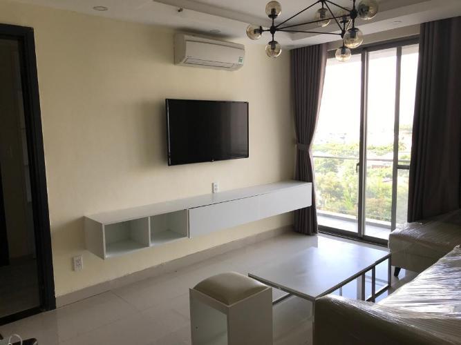 Phòng khách Happy Residence Quận 7 Căn hộ Hưng Phúc - Happy Residence tầng 7, view thành phố, đầy đủ nội thất