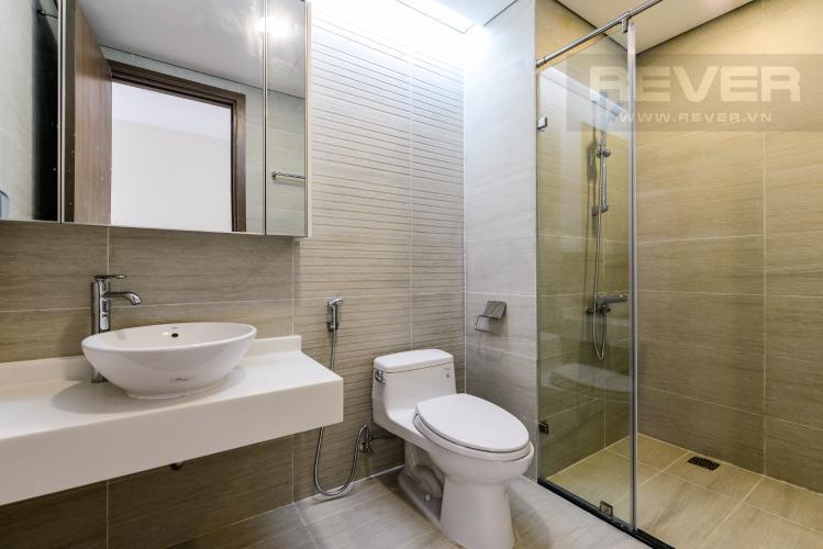 Phòng tắm 1 Căn hộ Vinhomes Central Park tầng cao 2PN nội thất cơ bản