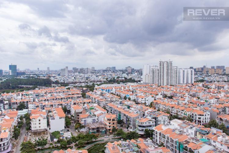 View Phòng Ngủ Bán căn hộ Sunrise City 2PN, tháp V2 khu South, đầy đủ nội thất, view sông thoáng đãng