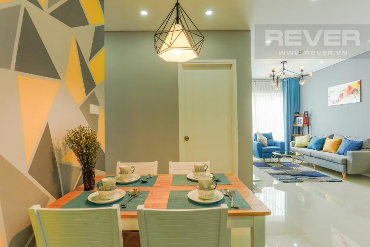 Phòng Ăn Căn hộ Dragon Hill 2 tầng thấp, 2 phòng ngủ, full nội thất