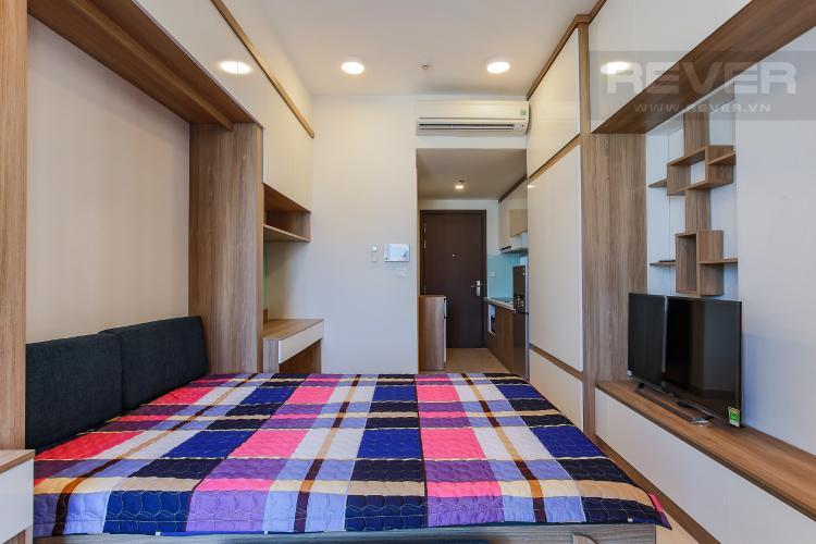 Phòng Ngủ Officetel RiverGate Residence 1 phòng ngủ tầng trung tháp B nội thất đầy đủ