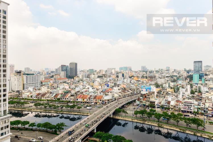 View Cho thuê căn hộ Masteri Millennium tầng cao 2PN đầy đủ nội thất view đẹp