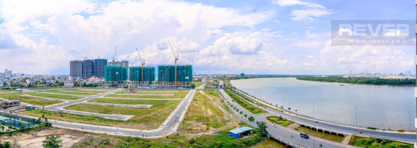 View Cho thuê căn hộ Diamond Island - Đảo Kim Cương 2PN, đầy đủ nội thất, view sông Sài Gòn thoáng mát