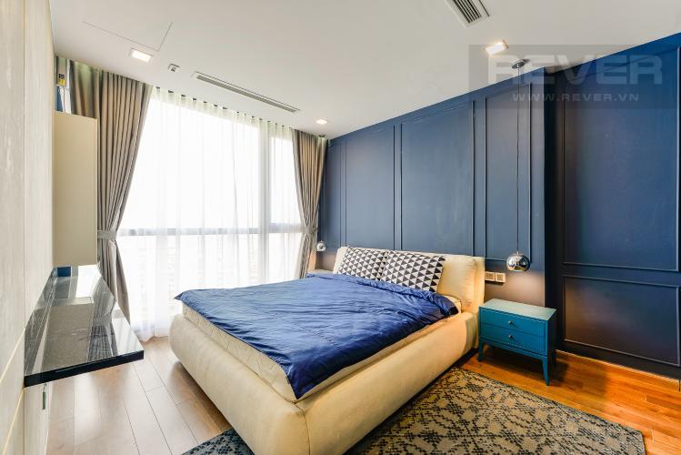 Phòng ngủ 2 Căn hộ Vinhomes Central Park 3 phòng ngủ tầng trung P4 view sông