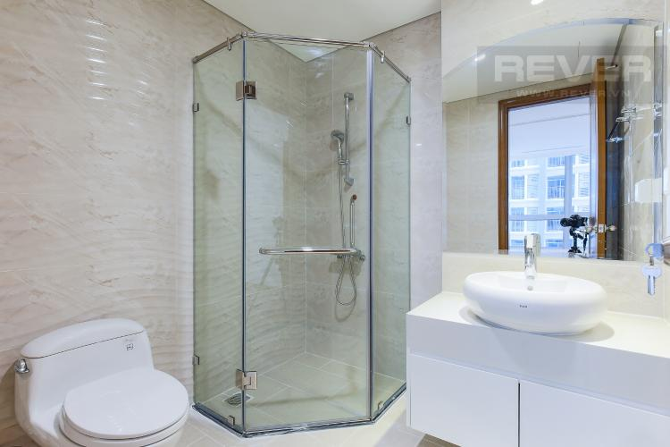 Phòng Tắm 1 Officetel Vinhomes Central 2 phòng ngủ tầng trung L4 nhà trống