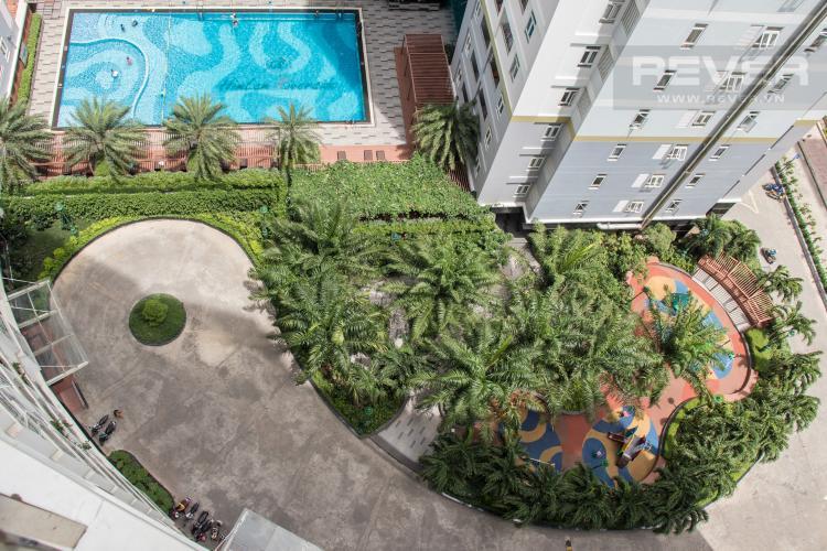 View Nội Khu Bán căn hộ Him Lam Riverside 3PN, tháp 1, nội thất cơ bản, view công viên và hồ bơi