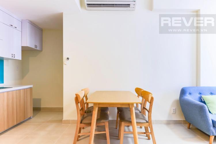 Bàn ăn Căn hộ Masteri Thảo Điền tầng cao T4B 2 phòng ngủ nội thất đầy đủ