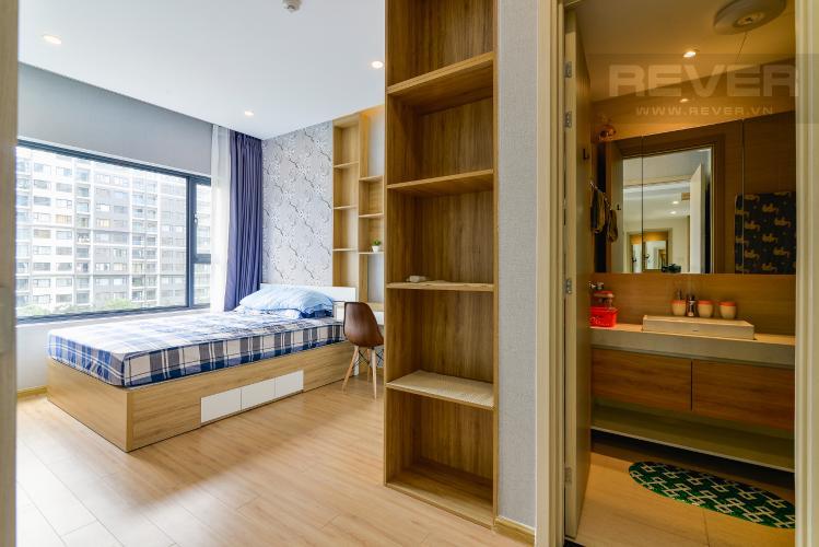 Phòng Ngủ 1 Cho thuê căn hộ New City 60m2 3PN 2WC, view nội khu, nội thất tiện nghi