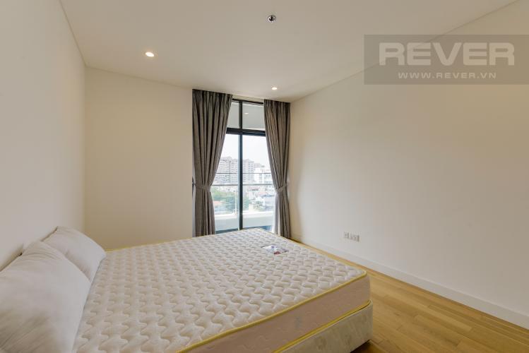 Phòng Ngủ Cho thuê căn hộ City Garden 1 phòng ngủ, diện tích 65m2, tầng trung view mát mẻ