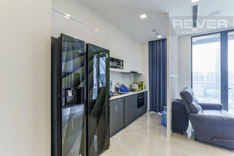 Phòng Bếp Bán căn hộ Vinhomes Golden River 2PN, tháp The Aqua 4, đầy đủ nội thất, view sông Sài Gòn và Landmark 81