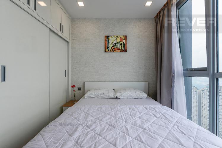 Phòng ngủ 2 Căn hộ Vinhomes Central Park 2 phòng ngủ tầng cao P6 view Quận 1