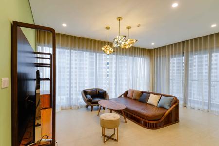 Bán căn hộ Diamond Island - Đảo Kim Cương 3PN, đầy đủ nội thất, thiết kế ấn tượng, view trực diện hồ bơi