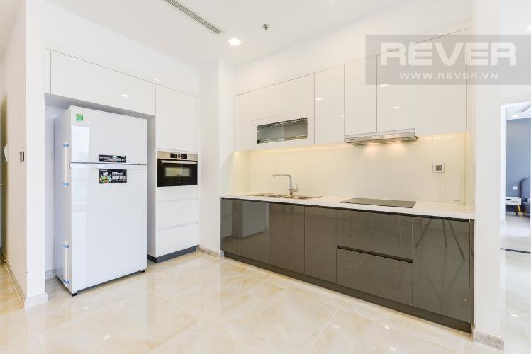 Bếp Căn hộ Vinhomes Golden River 2 phòng ngủ tầng cao A2 view sông