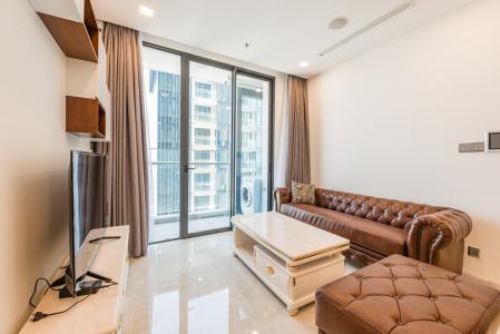 Căn hộ officetel Vinhomes Golden River tầng cao, đầy đủ nội thất, khu vực đa tiện ích
