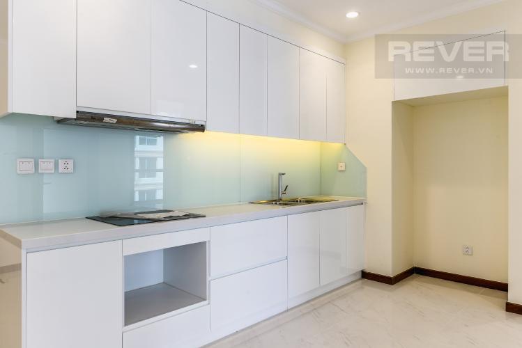 Nhà Bếp Căn hộ Vinhomes Central Park 3 phòng ngủ tầng cao L5 hướng Tây Bắc