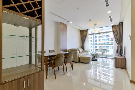 Cho thuê căn hộ Vinhomes Central Park 2PN 2WC, đầy đủ nội thất, view sông