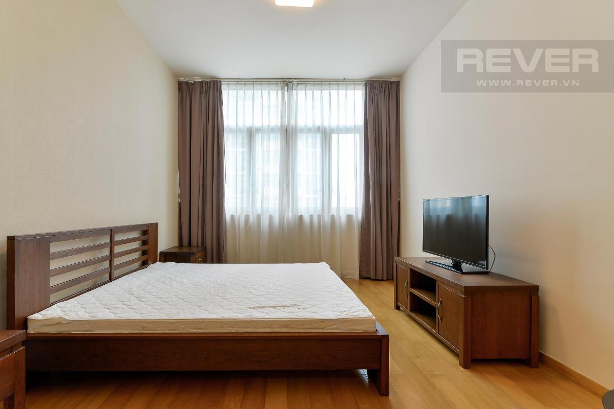 Phòng ngủ Master Cho thuê căn hộ The Vista An Phú 2PN, diện tích 101m2, đầy đủ nội thất, view hồ bơi yên tĩnh