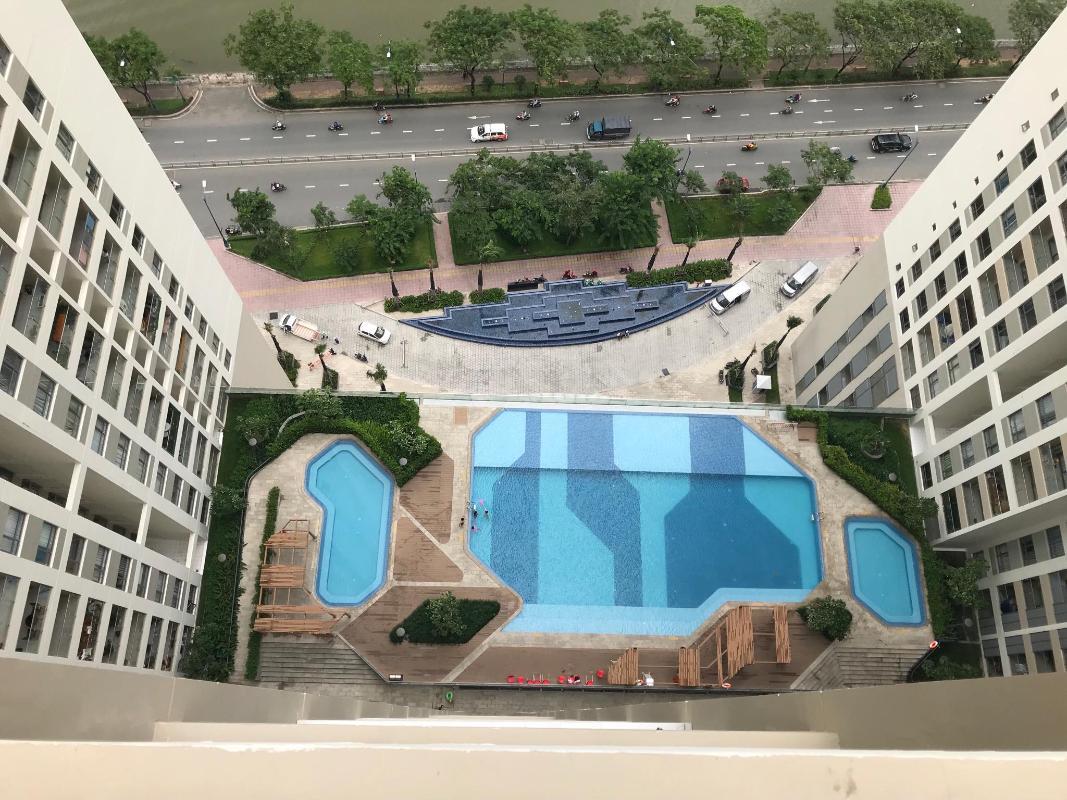 can-ho-THE-GOLD-VIEW Bán căn hộ The Gold View 2PN, tháp A, đầy đủ nội thất, view hồ bơi và Quận 1
