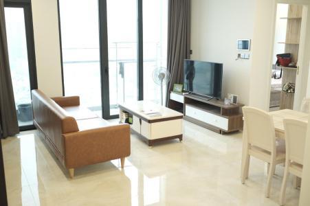 Bán căn hộ Vinhomes Golden River 2PN, tầng cao, đầy đủ nội thất, view Landmark 81