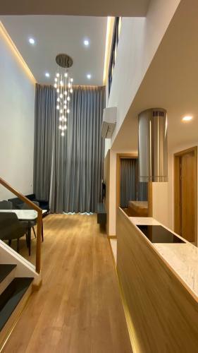 PHÒNG ĂN căn hộ Feliz En Vista Căn hộ Feliz En Vista tầng trung, view nội khu, đầy đủ nội thất.