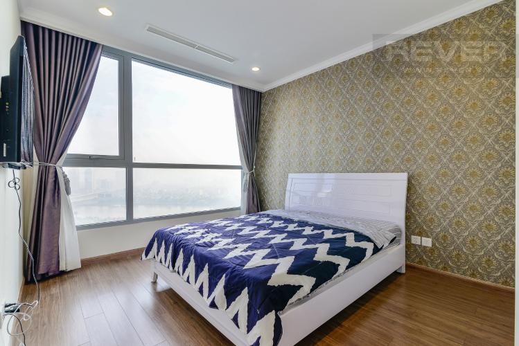 Phòng Ngủ 1 Căn hộ Vinhomes Central Park tầng cao, tháp Landmark 2, 3PN đầy đủ nội thất