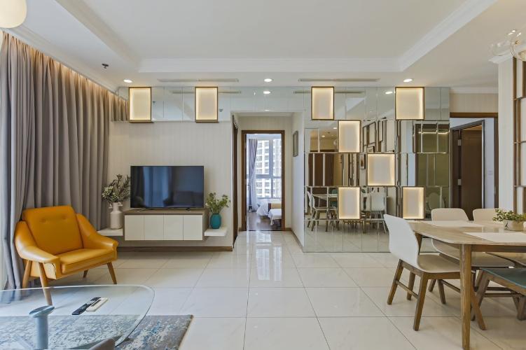 Cho thuê căn hộ Vinhomes Central Park 3PN, tầng cao, diện tích 100m2, đầy đủ nội thất