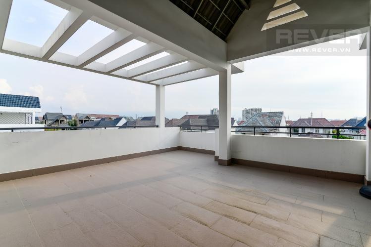 Sân Thượng Bán nhà phố KDC Khang An - Phú Hữu - Quận 9, 3 tầng, diện tích 149m2, sổ hồng chính chủ