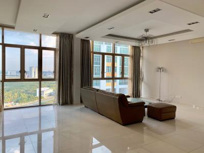 Cho thuê căn hộ The Vista An Phú 4PN, tầng cao, nội thất cơ bản, hướng view Đông Nam