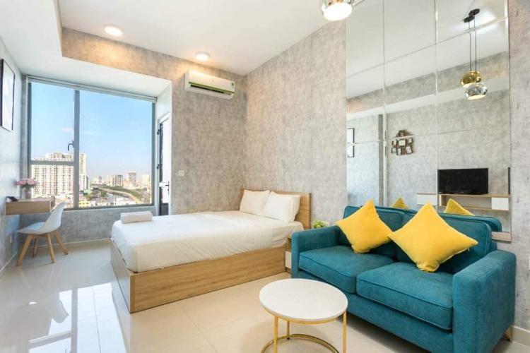 Bán căn hộ 1 phòng ngủ RiverGate Residence, tháp B, diện tích 26m2, đầy đủ nội thất
