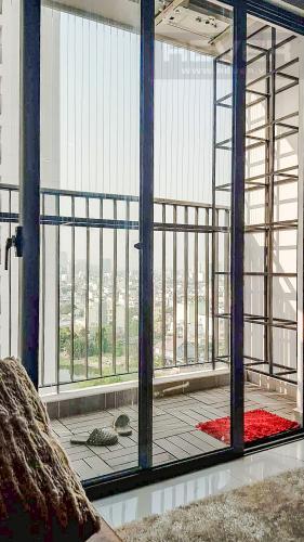 Ban Công Bán hoặc cho thuê căn hộ M-One Nam Sài Gòn, 77,71m2 3PN 2WC, đầy đủ nội thất