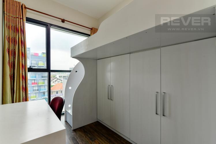 Phòng Ngủ 2 Cho thuê căn hộ The Ascent 2PN, tầng thấp, đầy đủ nội thất, view hồ bơi và Landmark 81