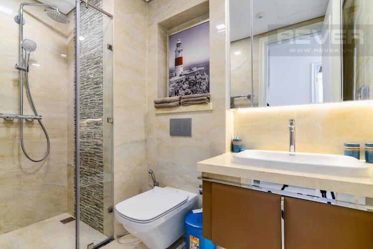 Phòng Tắm Cho thuê căn hộ Vinhomes Golden River tầng cao, 1PN, đầy đủ nội thất