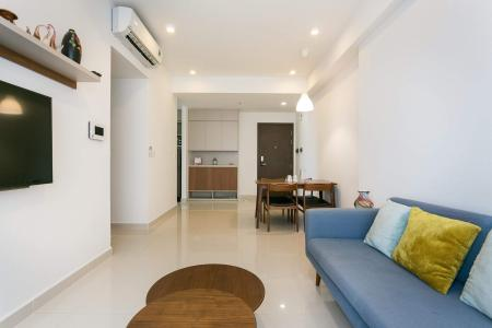 Cho thuê căn hộ The Tresor 2 phòng ngủ, tháp TS1, đầy đủ nội thất, view sông Sài Gòn