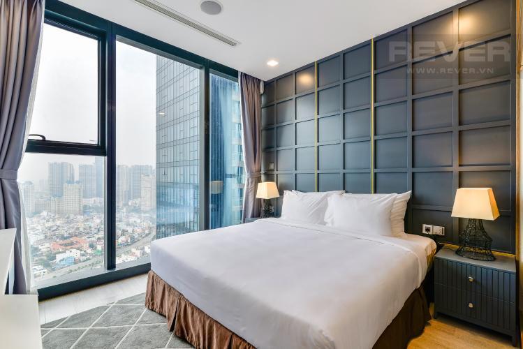Phòng Ngủ 1 Căn hộ Vinhomes Golden River tầng cao 2PN đầy đủ nội thất, có thể dọn vào ở ngay