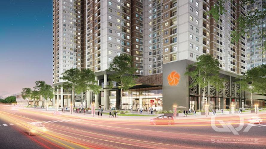 shop-house Q7 Saigon Riverside Shop-house Q7 Saigon Riverside hướng Nam, view đường phố nội khu.