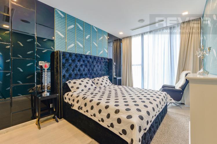 Phòng ngủ Officetel Vinhomes Golden River 1 phòng ngủ tầng cao A1 view sông