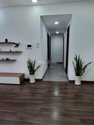Phòng khách căn hộ Icon 56, Quận 4 Căn hộ chung cư Icon-56 đầy đủ nội thất, view thành phố sầm uất.