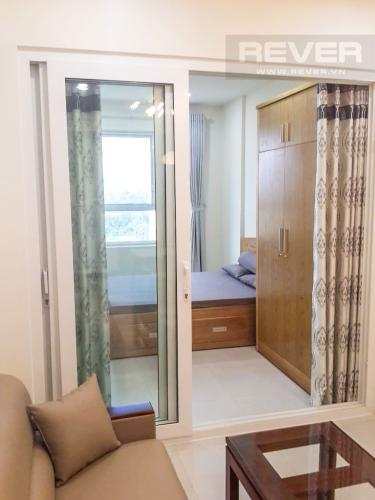 Phòng Ngủ 1 Cho thuê căn hộ Lexington Residence 1PN, tháp LA, đầy đủ nội thất, view đại lộ Mai Chí Thọ