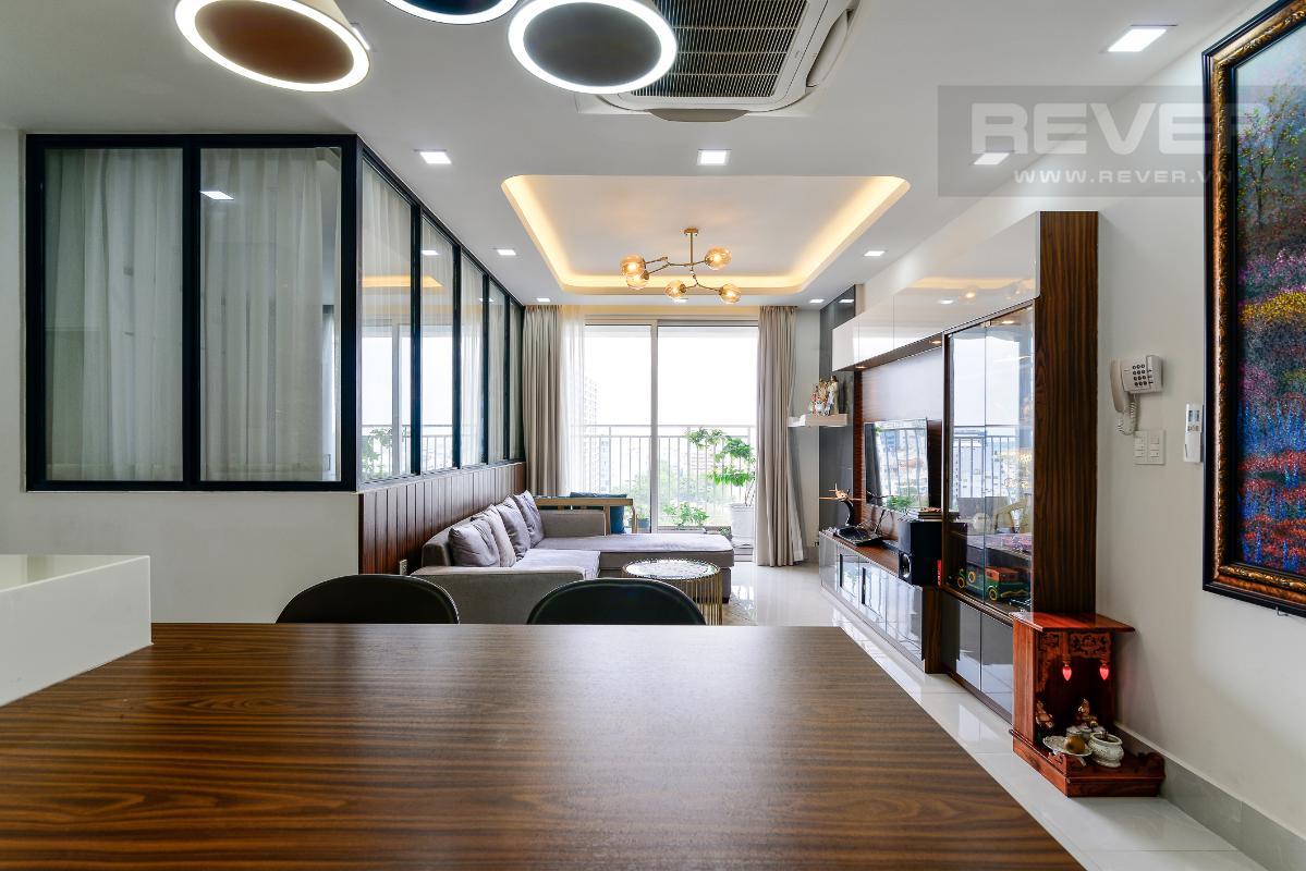 _DSC4744 Bán căn hộ The Botanica 3PN, tầng thấp, diện tích 99m2, đầy đủ nội thất, căn góc view thoáng