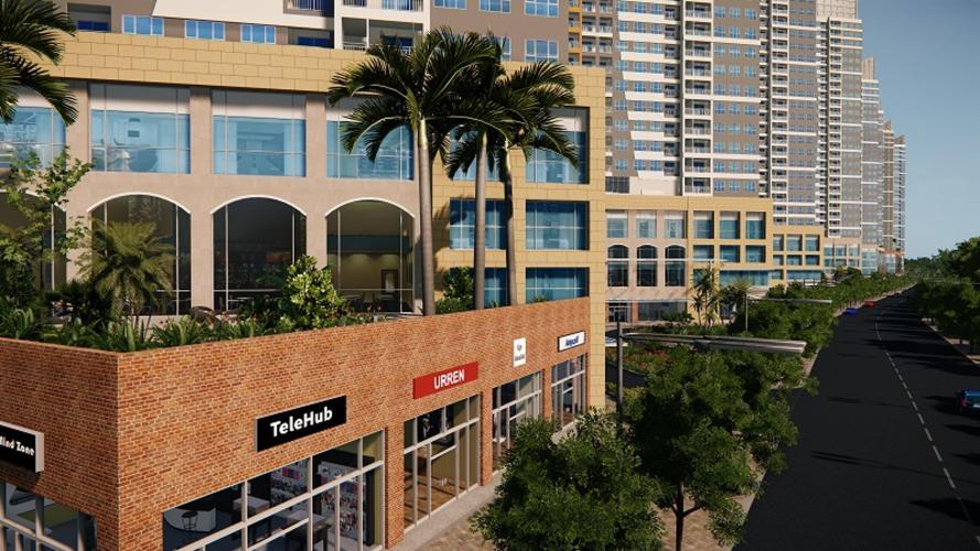 The Sun Avenue - Phối cảnh khu thương mại của dự án The Sun Avenue