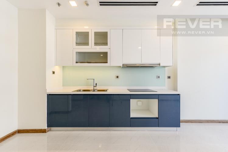 Bếp Căn hộ Vinhomes Central Park tầng cao Park 1 nội thất cơ bản