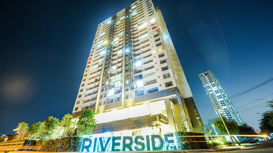 An Gia Riverside quận 7 Căn hộ tầng cao An Gia Riverside nội thất đầy đủ, view sông.