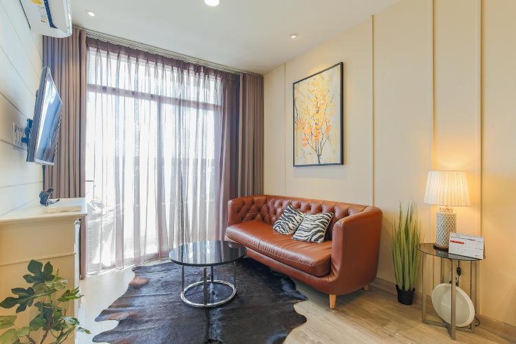 Cho thuê căn hộ Grand Riverside 1PN 1WC, đầy đủ nội thất, view sông