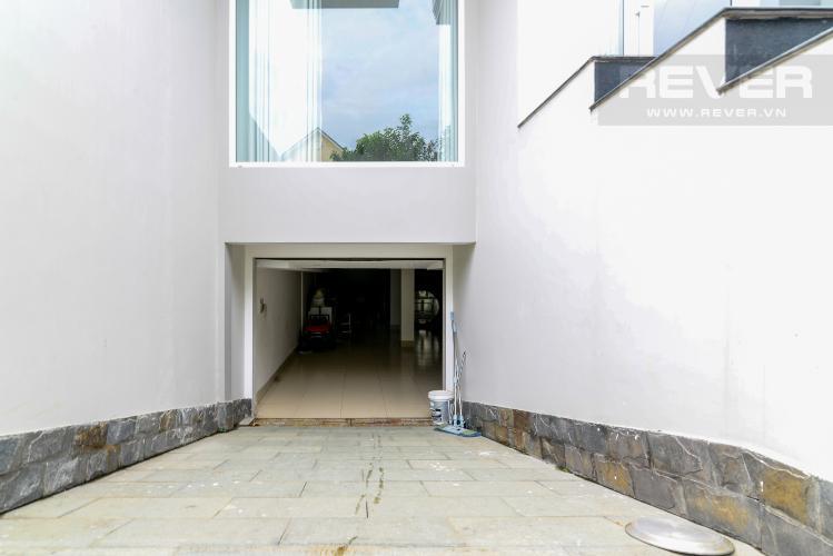 Hầm Gửi Xe Cho thuê biệt thự đường số 37, phường An Khánh, Quận 2, đầy đủ nội thất, diện tích đất 182m2, cách đường Lương Định Của 600m