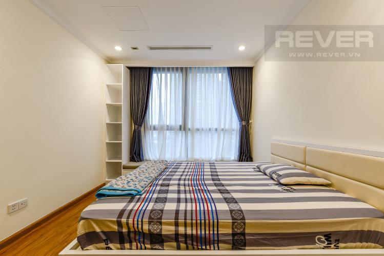 Phòng ngủ 3 Căn hộ Vinhomes Central Park 3 phòng ngủ tầng trung L5 nội thất đẹp