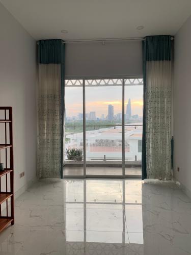 phòng khách căn hộ Lakeview2  Căn hộ Thủ Thiêm Lakeview đầy đủ nội thất, view thành phố.