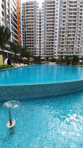 Hồ bơi Safira Khang Điền, Quận 9 Căn hộ Safira Khang Điền tầng trung, ban công view thoáng mát.