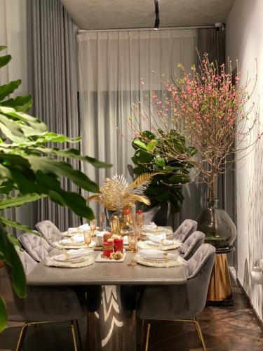 Phòng ăn Gateway Thảo Điền, Quận 2 Căn hộ duplex Gateway Thảo Điền thiết kế phong cách Bắc Âu.