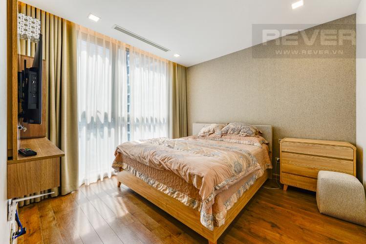 Phòng ngủ 1 Căn hộ Vinhomes Central Park 2 phòng ngủ tầng thấp P3 hướng Bắc